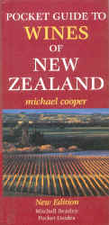 Pocket Guide to Wines of NZ - by Michael Cooper